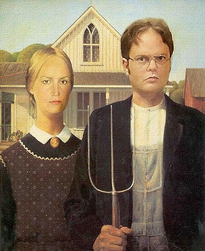 American Office Gothic